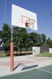 Basketball court. At a city park in Irvine, CA Stock Photos