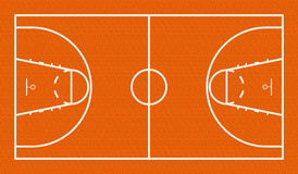 Basketball Court stock illustration