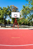 Basketball court Royalty Free Stock Photo