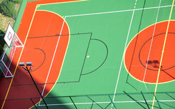 Free Basketball Court Royalty Free Stock Image - 30698366