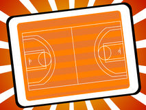 Basketball court Stock Photos