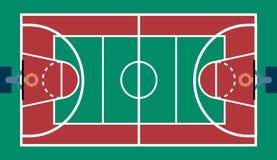 Basketball court Stockfoto