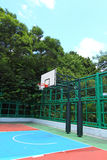 Basketball court in abstract view Royalty Free Stock Photography