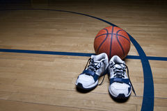 Basketball Court Background Stock Photos