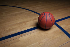 Basketball Court Background Stock Images