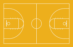 Basketball court background Stock Image