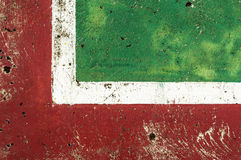 Basketball Court Background. Red and green stock photos