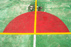 Basketball court6. Basketball Court Background red and greens background royalty free stock photo