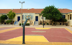 Basketball court. Stock Photos