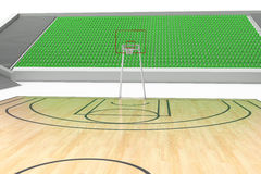 Basketball court #5 Royalty Free Stock Image