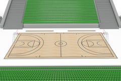 Basketball court #6 Stock Photos