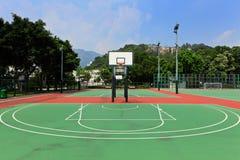 Basketball court Stock Image