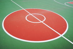 Basketball  court Royalty Free Stock Photography