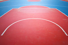 Basketball court. Stock Images