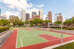 Basketball court in Houston, Texas Royalty Free Stock Photos