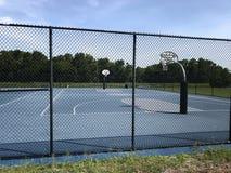 Basketball Court Outdoor. Photo image Stock Photo