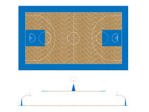 Basketball Court 2 Stock Images