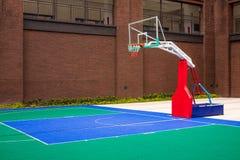 Basketball court at school Stock Photos