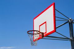 Basketball court. Royalty Free Stock Image