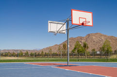 Basketball court. Royalty Free Stock Image