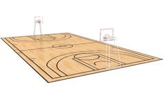 Basketball court #6 Stock Photography