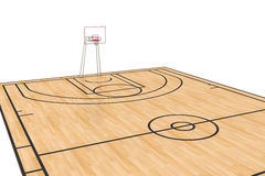 Basketball court #7 Royalty Free Stock Photos