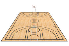 Basketball court #4 Royalty Free Stock Image