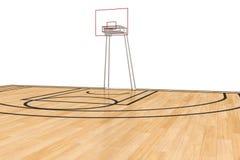 Basketball court #5 Stock Photo