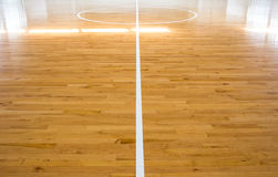 Basketball court royalty free stock image