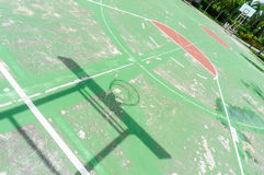 Basketball courts Stock Photography