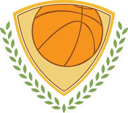 Basketball Crest Royalty Free Stock Image