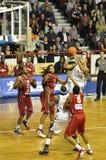Basketball, Cyril Akpomedah. Stockbilder