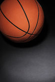 Basketball on dark background Stock Image