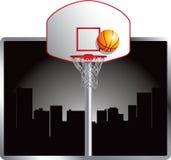 Basketball in der Stadt Stockbilder