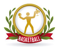 Basketball design Stock Photography