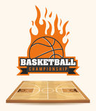 Basketball design. Basketball digital design, vector illustration 10 eps graphic Royalty Free Stock Photography
