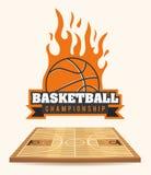 Basketball design Royalty Free Stock Photography