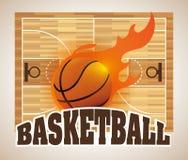 Basketball design. Basketball digital design, vector illustration 10 eps graphic Royalty Free Stock Photos