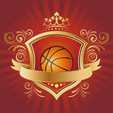 Basketball design element Stock Image