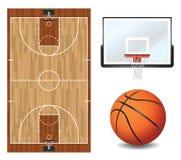 Basketball Design Elements Illustration Stock Photo