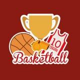 Basketball design Royalty Free Stock Photo