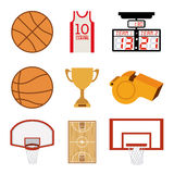 Basketball design Stock Images