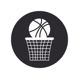 Basketball design  over white background vector illustration Royalty Free Stock Images