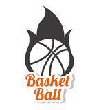 Basketball design  over white background vector illustration Stock Photography