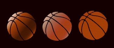Basketball design set symbol royalty free illustration