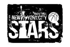 Basketball design. Vector illustration. For t-shirt stock illustration