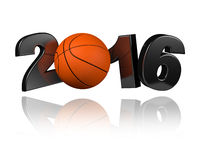 Basketball 2016 design Royalty Free Stock Photography