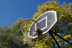 Basketball Dunk Stock Photo