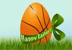 Basketball Easter egg Stock Photography