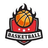BASKETBALL EMBLEM Royalty Free Stock Images